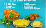 Click here to enlarge image and see more about item p28836: Florida Orange Meringue Pie Recipe p28836