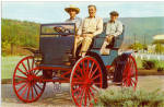 Click here to enlarge image and see more about item p29566: 1909 Black Farm Wagon