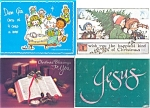 Click here to enlarge image and see more about item p2913: Christmas Postcards Lot of 8