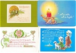 Click here to enlarge image and see more about item p2914: Christmas Postcards Lot of 12 p2914