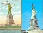 Statue of Liberty New York Harbor Postcards Lot 2 p2938