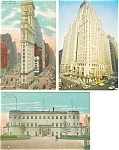 New York City  Postcard Lot 3