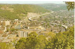 Aerial View of Johnstown, Pennsylvania