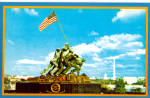Click here to enlarge image and see more about item p29505: US Marine Corps War Memorial Iwo Jima Stature