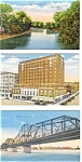 Click here to enlarge image and see more about item p2950: Iowa  Sioux City Postcard Lot 3