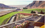 Landscaping,Rocky Reach Dam, Columbia River