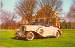 Click here to enlarge image and see more about item p29567: 1930 Dusenberg Double Cowl Phaeton