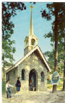 Click here to enlarge image and see more about item p29669: Chapel in the Woods, Enchanted Forest,Baltimore,MD