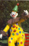 Click here to enlarge image and see more about item p29670: Pedros Giant Clown South Of The Border p29670