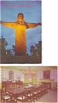 Click here to enlarge image and see more about item p2975: Arkansas Postcard Lot of 2