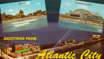 Atlantic City  New Jersey Three Views on Card p29770