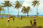 Click here to enlarge image and see more about item p29960: Dorado Beach Golf Course Dorado Puerto Rico p29960
