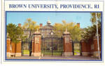 Brown University, Providence, RI