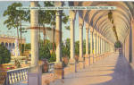Click here to enlarge image and see more about item p29993: Archway,Ringling Art Museum,Sarasota, FL
