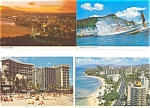 Waikiki Hawaii Postcards Lot of 7 p3009