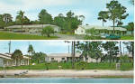 Ola Beach Motel Mount Dora FL Postcard p30165