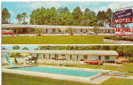 Sleepy Hollow Motel Starke FL Cars 1950s p30198