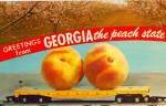 Click here to enlarge image and see more about item p30270: Biggest Peaches You Ever Saw
