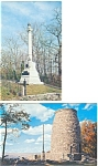 Click here to enlarge image and see more about item p3030: Maryland Monuments Postcard  Lot 2