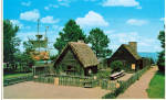 Click here to enlarge image and see more about item p30394: Replica Houses at  Plimouth Plantation