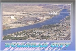 Click here to enlarge image and see more about item p3040:  Bullhead City NV Postcard  Colorado River p3040