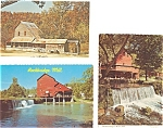 Vintage Missouri Mills Postcard  Lot 3