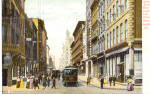 Chestnut Street, Philadelphia, Trolley 1906