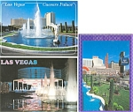 Click here to enlarge image and see more about item p3051: Caesars Palace Las Vegas NV Postcard  Lot 3