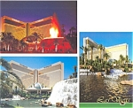 Click here to enlarge image and see more about item p3053: The Mirage Las Vegas NV Postcard  Lot 3