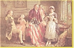 Click here to enlarge image and see more about item p3065: Betsy Ross Postcard   J L G.Ferris p3065