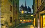 Click here to enlarge image and see more about item p30690: Le Bourg de Four et la Cathedrale de Saint Pierre Switzaerland    p30690