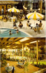 Holiday Inn Holidome Suffern NY Postcard p30751