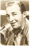 Click here to enlarge image and see more about item p3078: Bing Crosby Real Photo Postcard