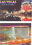 Click here to enlarge image and see more about item p3089: Flamingo Hilton Las Vegas Postcard  Lot 2