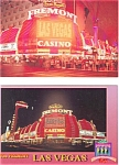 Click here to enlarge image and see more about item p3091: Fremont Casino Las Vegas Postcard  Lot 2