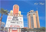 Click here to enlarge image and see more about item p3094: Sands Hotel Las Vegas Frankie Valli Postcard