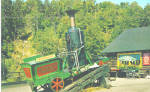 Click here to enlarge image and see more about item p30971: Mt Washington, NH, Old Peppersass  Cog Road Engine
