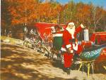 Click here to enlarge image and see more about item p30984: Santa;s Sleigh,Reindeer, Santa's Workshop at Cascade, Colorado