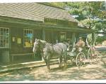 Entrance to Miner Grant's General Store, Old Sturbridge Village