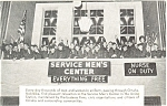 WW II Service Men's Center Omaha NE Postcard