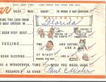 Busy Persons Correspondence Postcard Gulf Oil