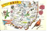 State Map of Ohio p31200