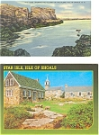New Hampshire Isle of Shoals Postcards p3123  Lot 2