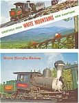 Cog Railway White Mountains NH Postcard Lot 2