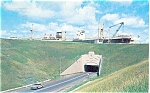 Eisenhower Lock Tunnels Postcard p3143