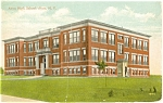 Click here to enlarge image and see more about item p3177: Avon High School Avon NY Postcard p3177
