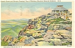 Click here to enlarge image and see more about item p3179: Whiteface Mt Adirondacks NY Postcard p3179
