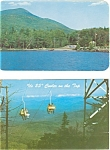 Click here to enlarge image and see more about item p3182: Adirondacks of  NY Postcard Lot of 2