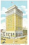 Click here to enlarge image and see more about item p3204: First National Bank Canton OH Postcard