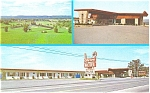 City View Motel Williamsport PA Postcard p3215